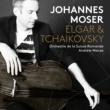 ヨハネス・モーザー(チェロ) スイス・ロマンド管弦楽団 アンドルー・マンゼ(指揮) エルガー:チェロ協奏曲、チャイコフスキー:ロココの主題による変奏曲