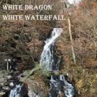 white dragon wihte waterfall