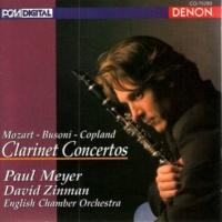 English Chamber Orchestra/David Zinman Clarinet Concertos