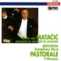 Orchestre de Chambre de Lausanne/Lovro von Matacic Beethoven: Symphony No. 6 & 9 Menuets from 12 Menuets