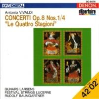 "Rudolf Baumgartner/Festival Strings Lucerne/アントニオ・ヴィヴァルディ Vivaldi: Concerti Op. 8 Nos. 1-4 ""Le Quattro Stagioni"""