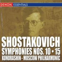 Kyril Kondrashin/The Symphony Orchestra of the Moscow Philharmonic Society Shostakovich: Symphonies Nos. 10 - 15