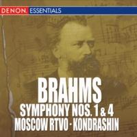 Kyril Kondrashin/Moscow RTV Symphony Orchestra Brahms: Symphony Nos. 1 & 4