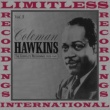 Coleman Hawkins The Complete Recordings 1929-1941, Vol. 3