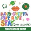 David Guetta Stay (Don't Go Away) [feat. Raye] (Nicky Romero Remix)