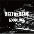 RED in BLUE GOOD LUCK