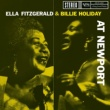 ビリー・ホリデイ/エラ・フィッツジェラルド Ella Fitzgerald & Billie Holiday At Newport