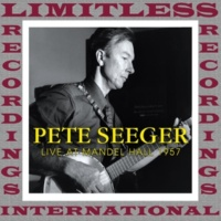 Pete Seeger Live at Mandel Hall, University of Chicago, 1957 (HQ Remastered Version)