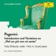 "Va?a P?ihoda/Otto Graef Paganini: Introduction and Variations on ""Nel cor più non mi sento"", MS 44 (Arr. by Váša Příhoda)"
