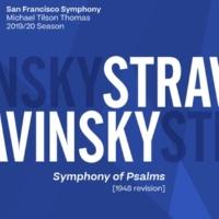 San Francisco Symphony & Michael Tilson Thomas Stravinsky: Symphony of Psalms
