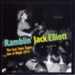 Ramblin' Jack Elliott The Lost Topic Tapes: Isle Of Wight 1957