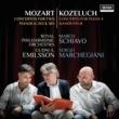 Marco Schiavo/Sergio Marchegiani/ロイヤル・フィルハーモニー管弦楽団/Gudni A. Emilsson Mozart: Concertos For Two Pianos K 242 & 365; Kozeluch: Four Hands Piano Concerto