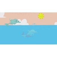 Os Habitantes do Fundo do Mar Golfinhos