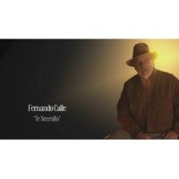 Fernando Calle Te Necesito (Lyric Video)