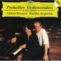 ギドン・クレーメル/マルタ・アルゲリッチ プロコフィエフ:ヴァイオリン・ソナタ第1、2番