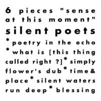 """Silent Poets 6 Pieces """"sense at this moment"""""""