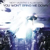 Nikki Valentine/Allan Natal You Won´t Bring Me Down (Remixes) (feat.Allan Natal)