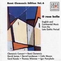 René Clemencic O rosa bella