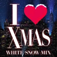Zukie I LOVE X'MAS WHITE SNOW MIX