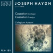 Collegium Aureum Two Cassations in G Major & F Major