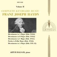 Artur Balsam Haydn: Complete Keyboard Music, Vol. 2