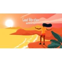 Natiruts/IZA Good Vibration (Lyric Video)