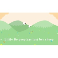 The Rainbow Collections Little Bo Peep (Official Lyric Video)